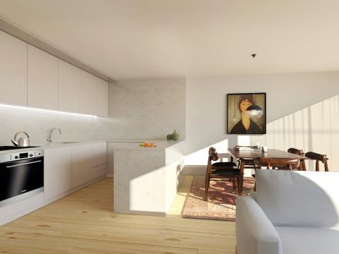 Apartamento T1 em Cedofeita (Lapa)