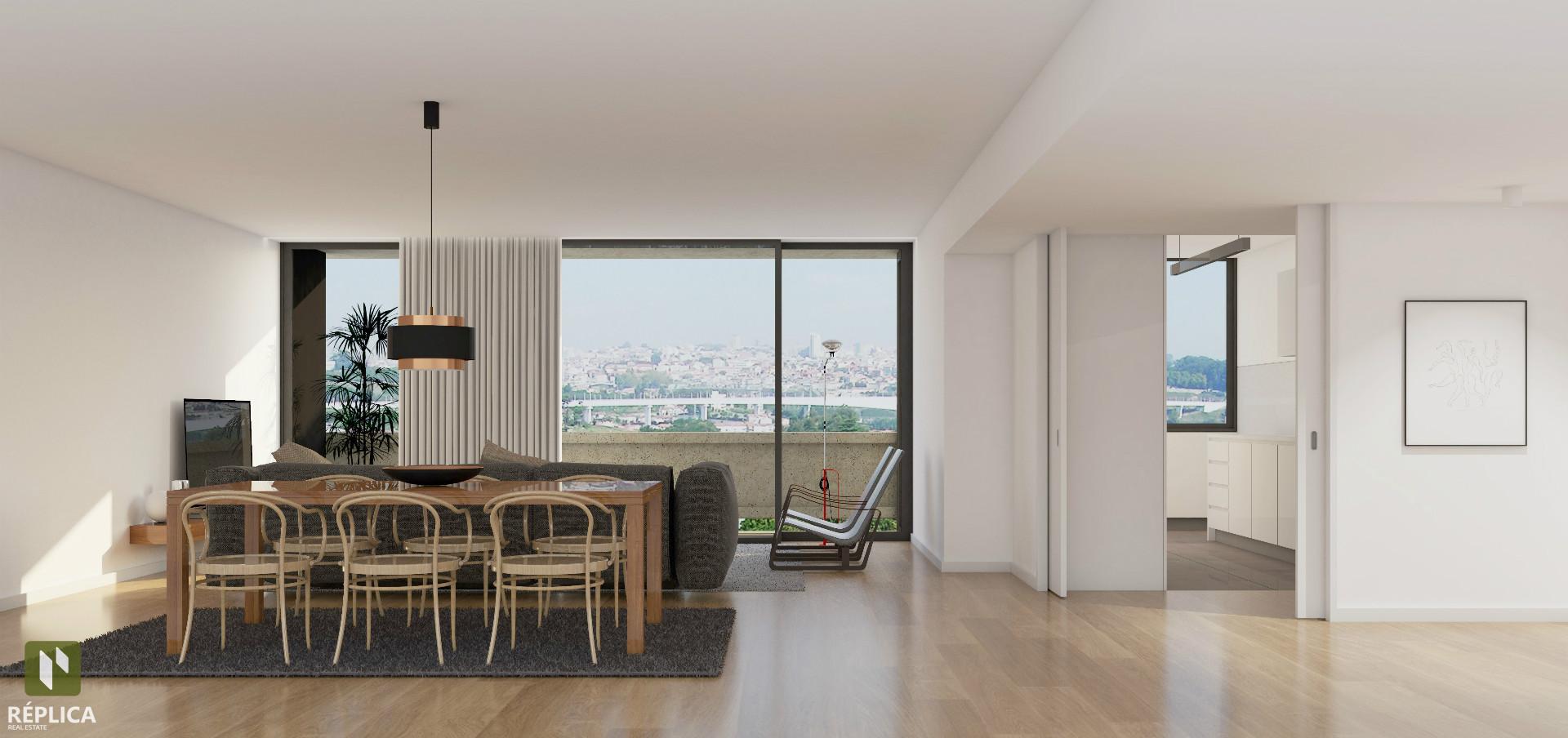 T3+1 em condomínio privado, Mafamude, Vila nova de Gaia