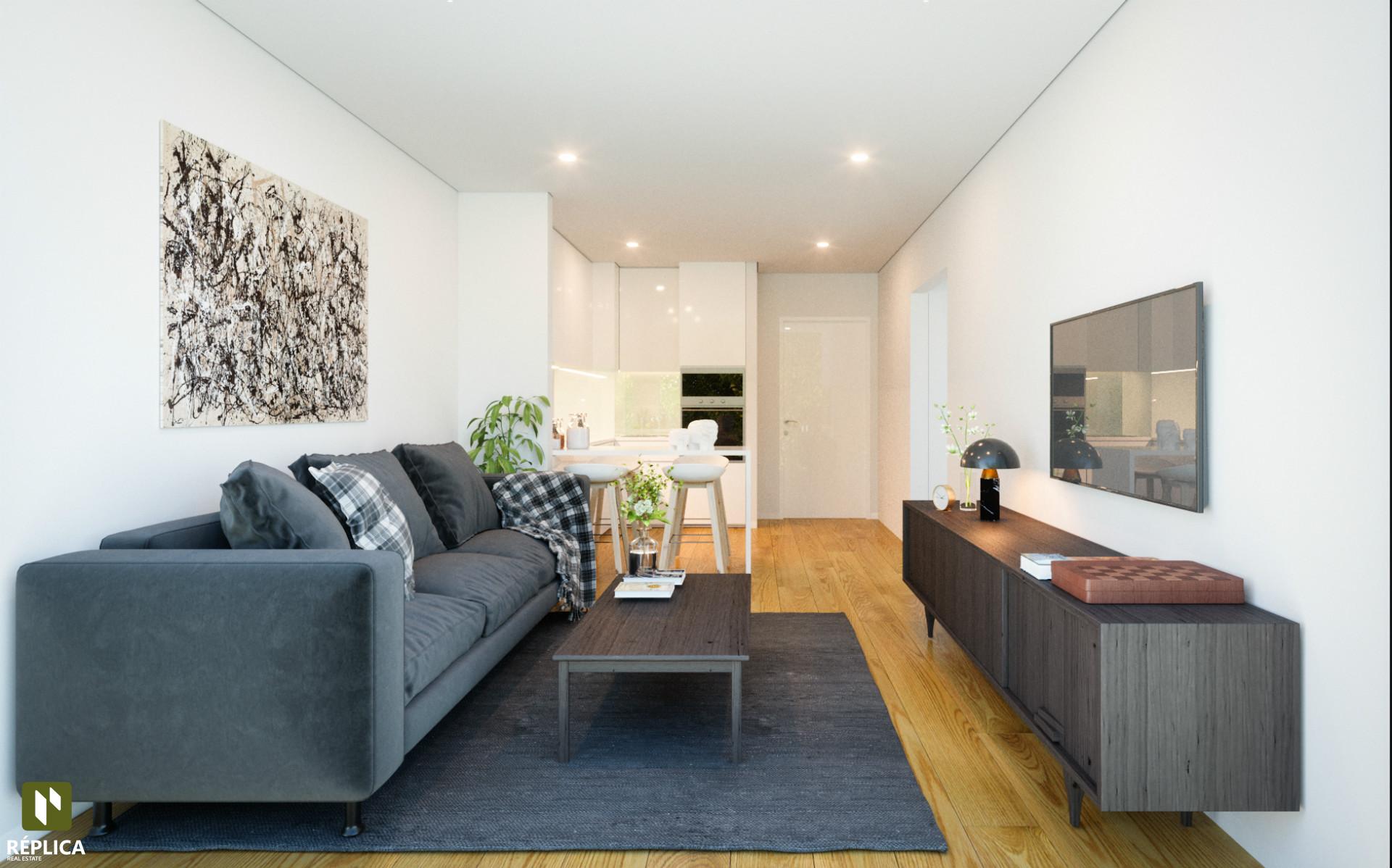 Apartamento T1+1 Novo, Alameda das Antas