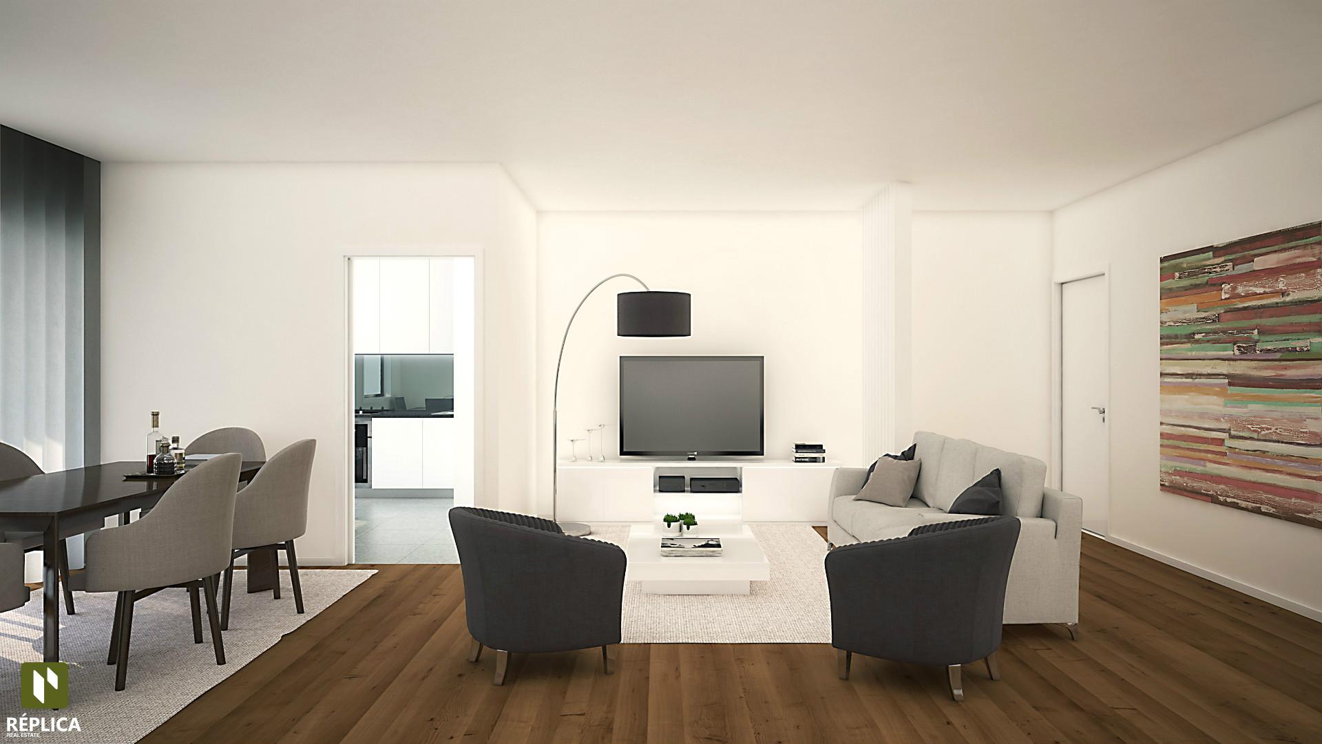 Apartamento T3 Novo em Leça da Palmeira