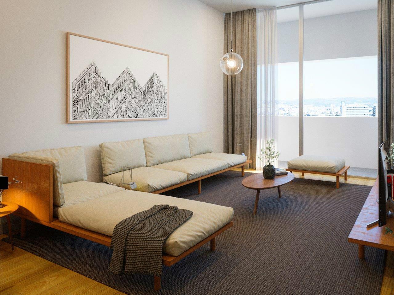 Apartamento T2 Novo, Alameda das Antas