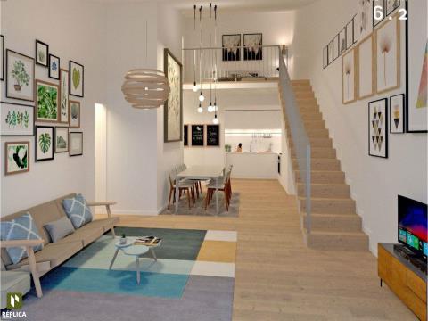Apartamento T2 Duplex Novo, Campanhã