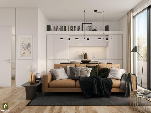 Apartamento T1 Novo, Arca d´Água