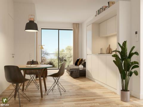 Apartamento T1+1 Novo, Arca d´Água