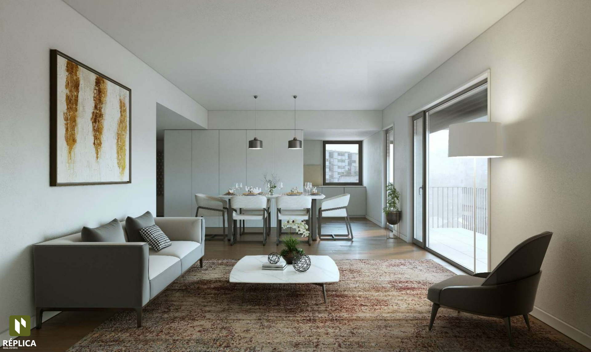 Appartement 3 Chambre(s) Kitchenette