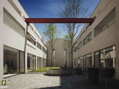 Apartamento T2, novo em Matosinhos Sul