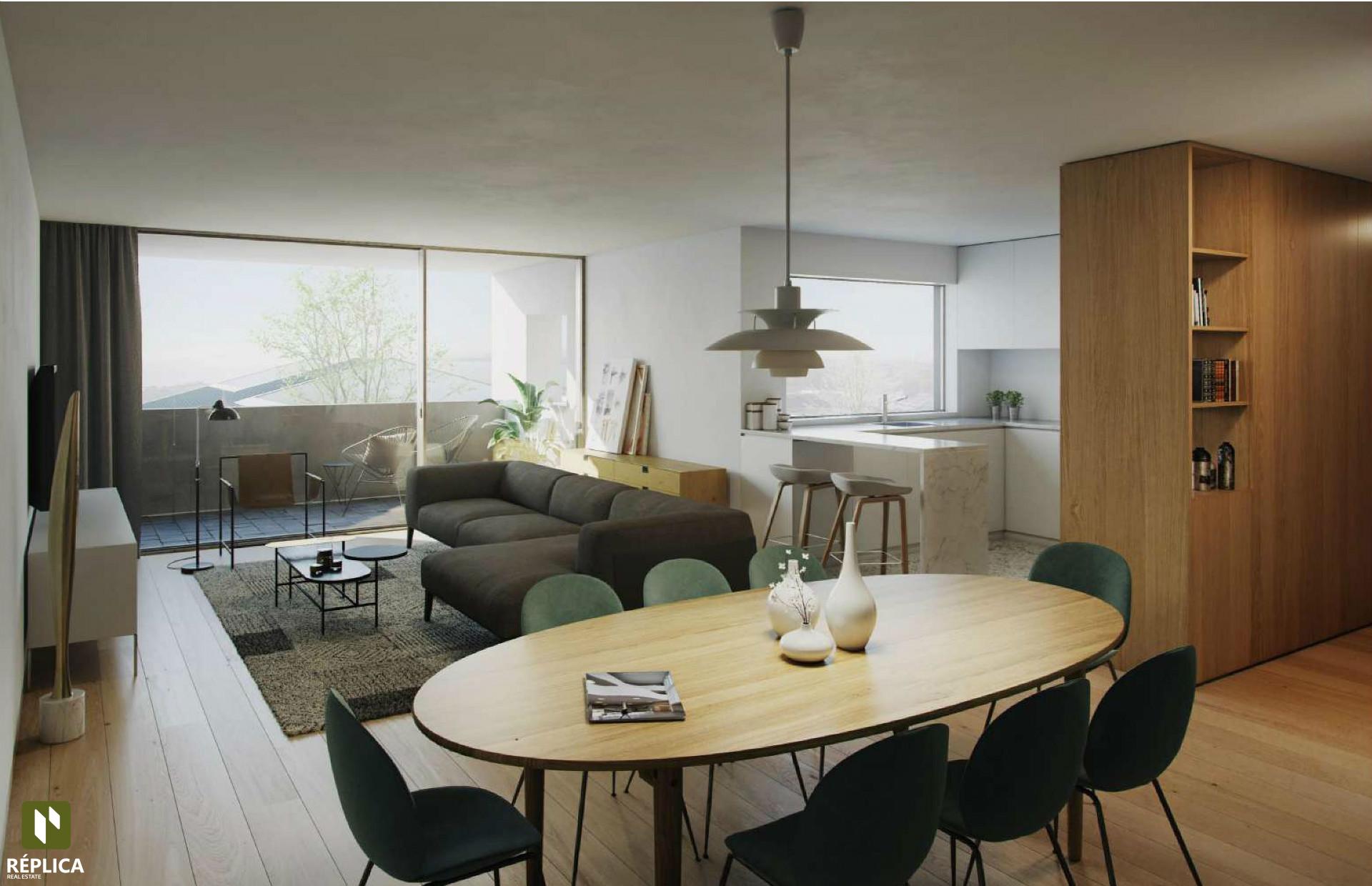 Nouvel appartement de 3 chambres à Matosinhos Sul