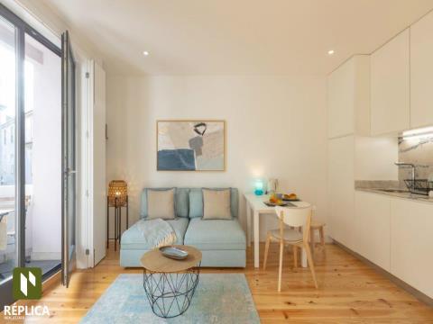 Apartamento T1 na Baixa da Cidade do Porto