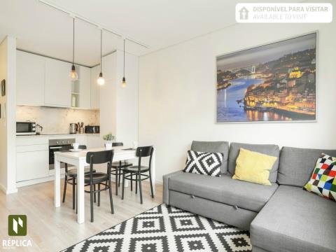 Apartamento T1 Novo, junto à Rotunda da Boavista