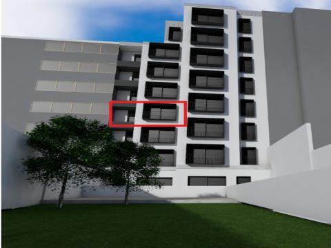 Apartamento T1 Novo junto à Estação de Campanhã