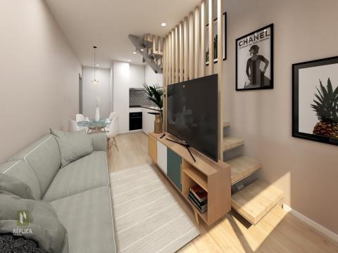 Apartamento T0 Novo na Baixa do Porto