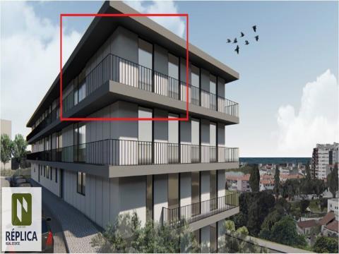 Apartamento T2K Novo, em Matosinhos
