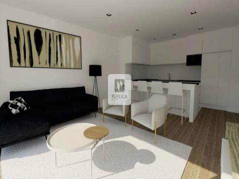 Apartamento T2 Com Varandas e Lugar de Garagem em Matosinhos.