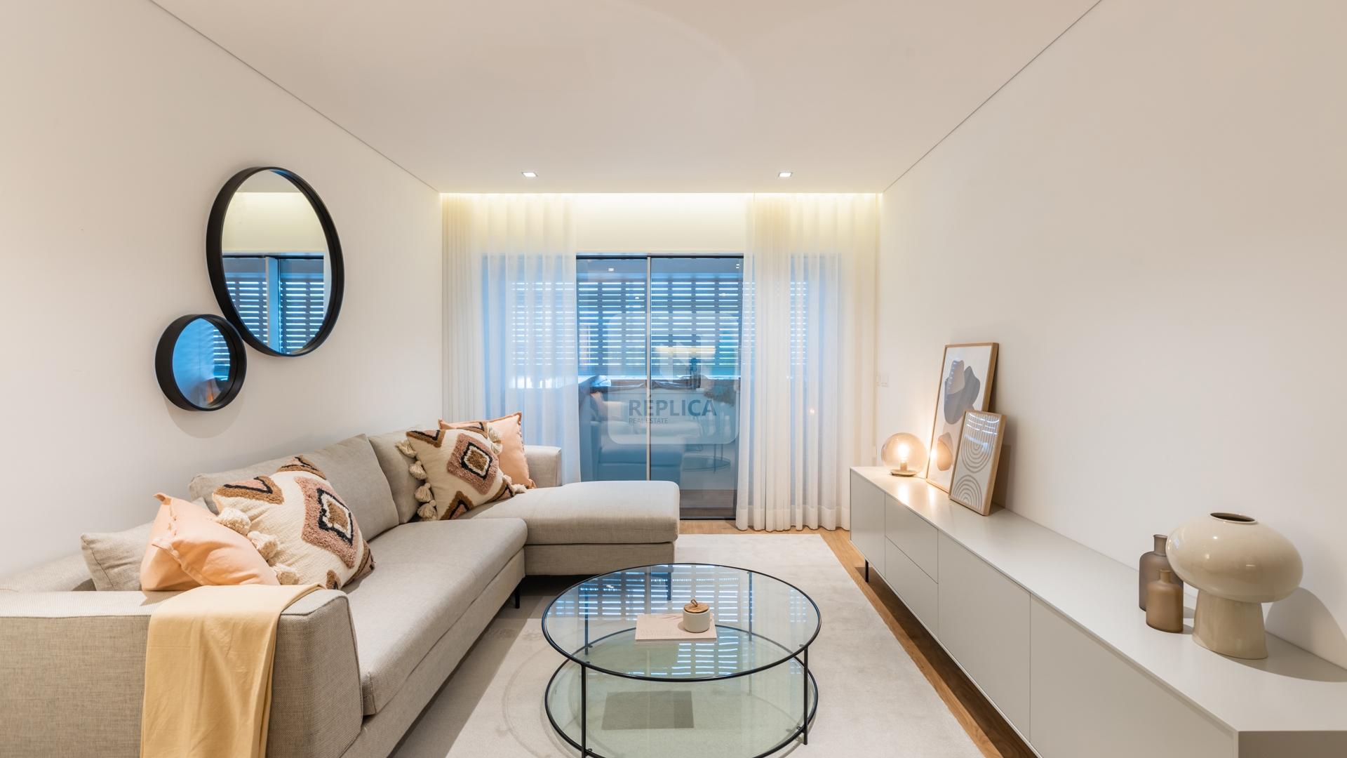 Apartamento T1 novo, Alameda das Antas