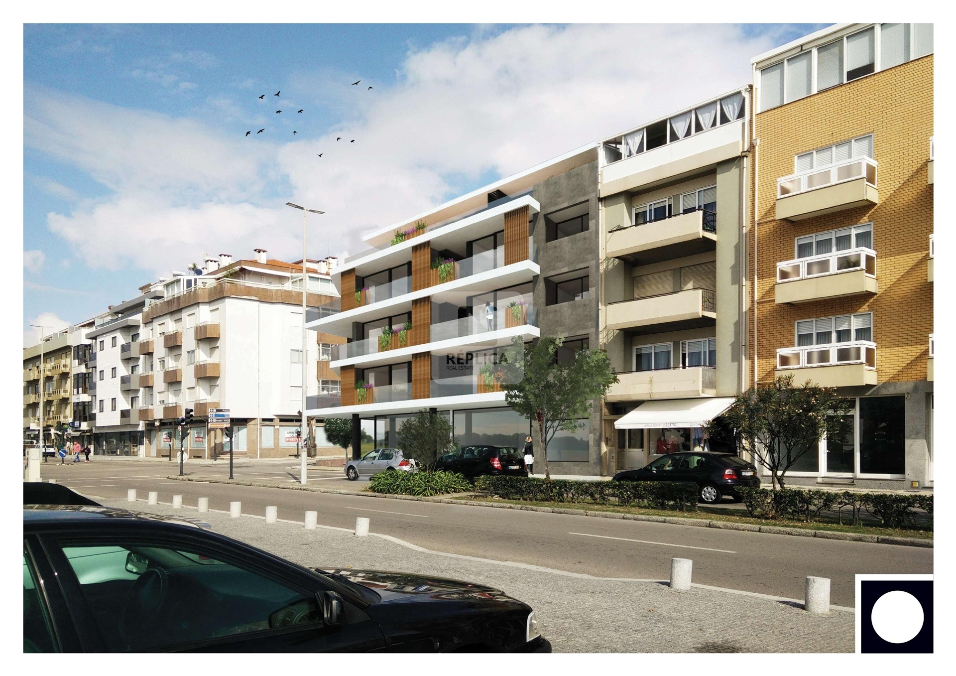 LUXURY DEVELOPMENT IN THE CENTER OF ESPINHO WITH TYPOLOGIES T2 TO T4