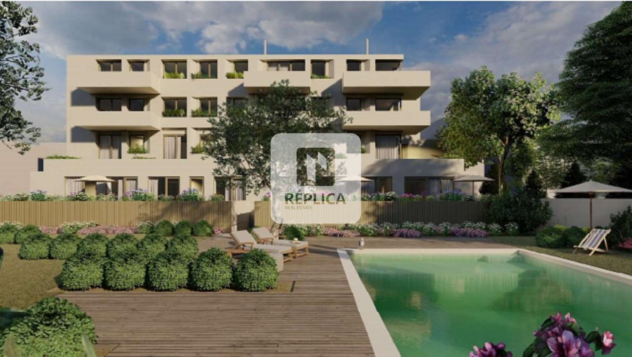 Apartamento T3 com jardim e piscina, Paranhos