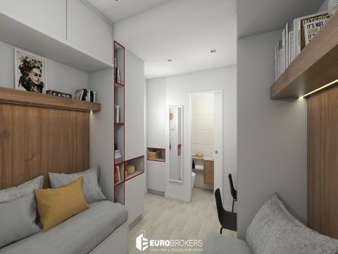 Apartamento T2 em empreendimento com rentabilidade mínima garantida!