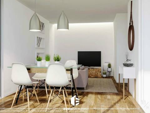 Apartamento T2 novo no Bonfim