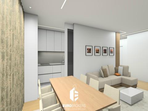 Apartamento T3 de luxo em Matosinhos Sul