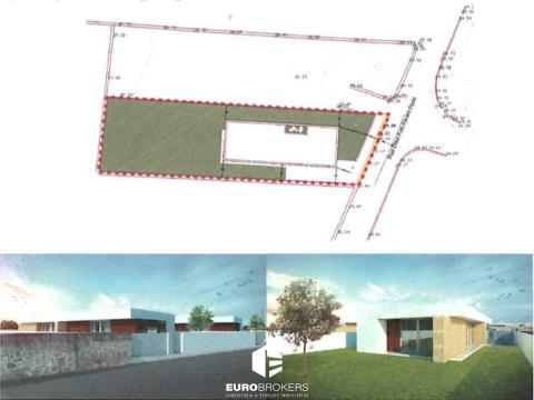 Terreno para Construção com PIP em Leça do Balio