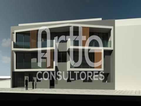 Apartamento T1 c/ Terraço e Lugar de Garagem