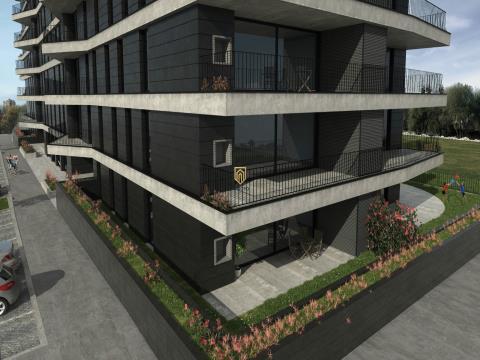 Apartamento T1 em Ramalde - Green Terrace