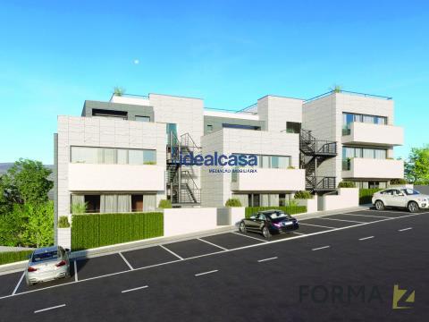 Apartamento T2 novo para venda, em Coimbra
