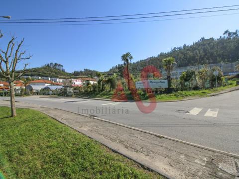 Terreno industrial para construção com 4.962 m2 em São João, Vizela