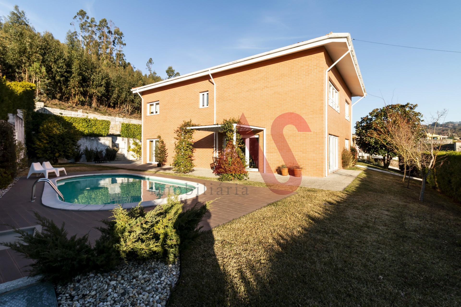 Villa di lusso 5 camere da letto a Infias, Vizela