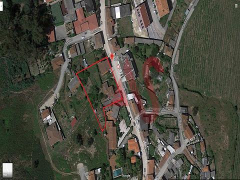 Moradias + Armazém + terreno em São Martinho do Campo - Santo Tirso