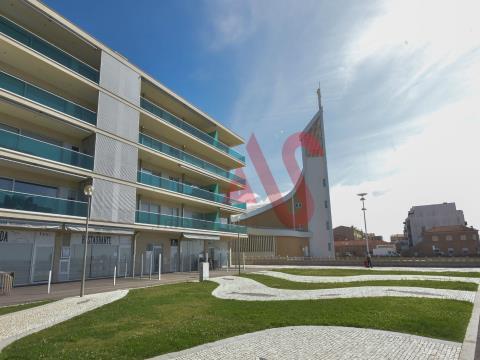 Apartamento T3 na 1ª linha de praia nas Caxinas - Vila do Conde