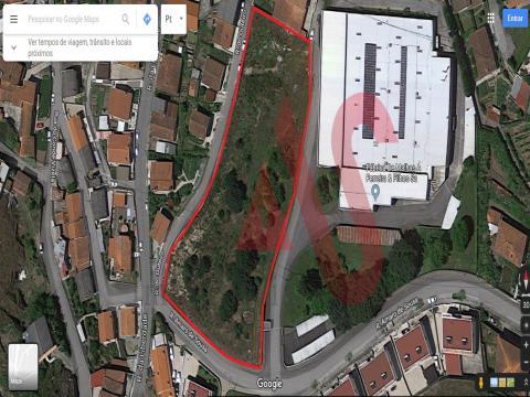 Terreno para construção com 5.900 m2 em São João, Vizela