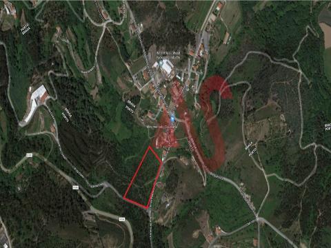 Terreno rústico com 9.700 m2 em Santa Eulália - Vizela