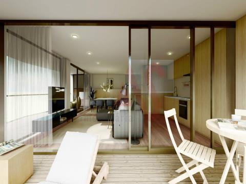Magnífico Apartamento T2, no empreendimento Rio Ave Terrasse II, nas margens do Rio Ave