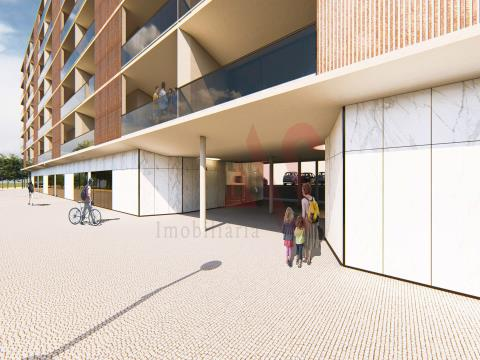 Wunderschöne 3-Zimmer-Wohnung in der Wohnanlage Rio Ave Terrasse II am Ufer der Rio Ave in Ponte, Gu