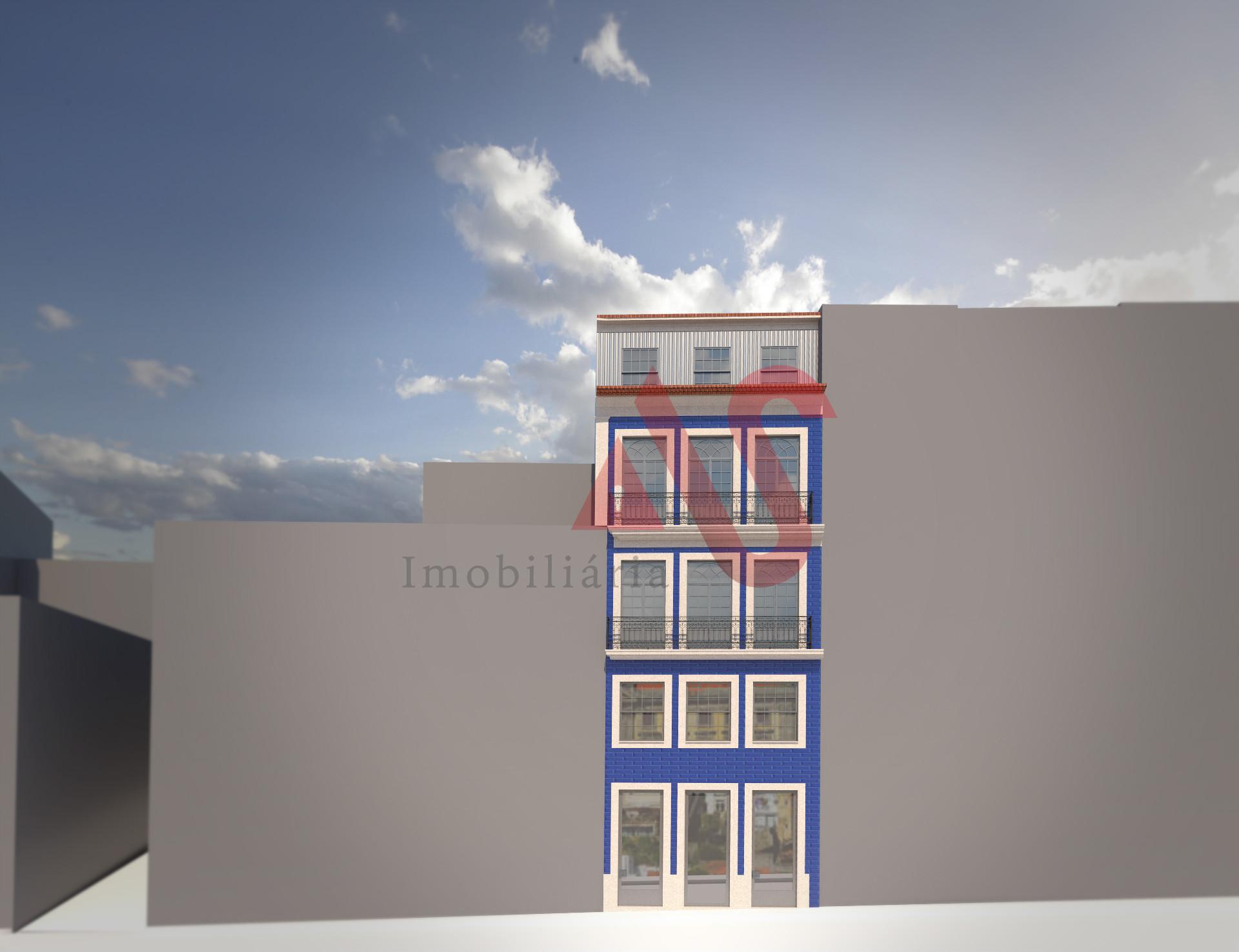 Apartamento T1+1 inserido no Empreendimento Flores Prime