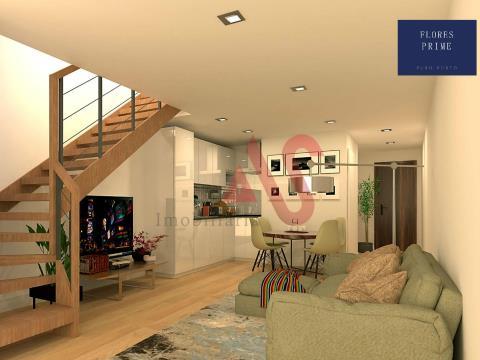 Apartamento T3 Duplex inserido no Empreendimento Flores Prime