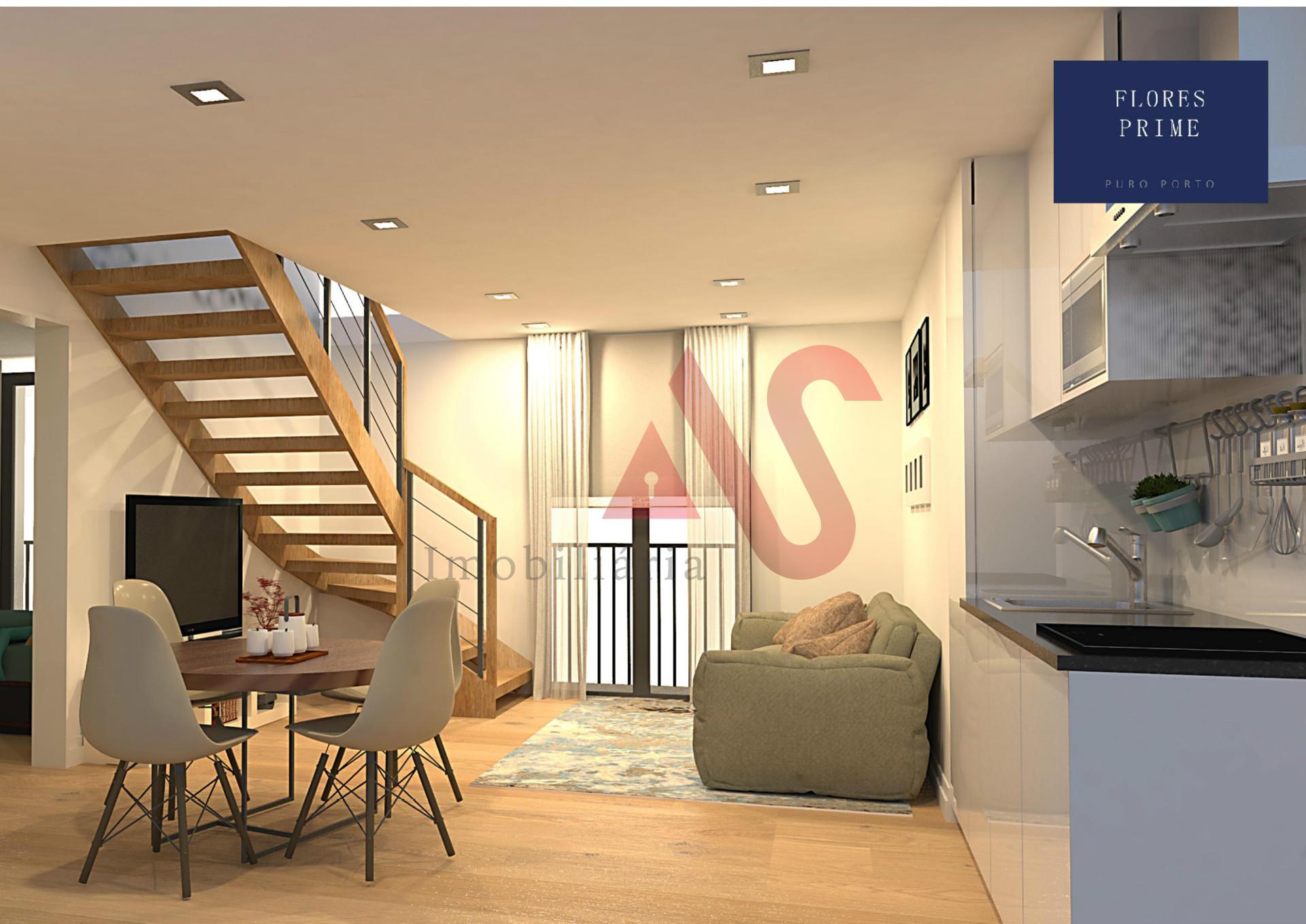 Apartamento T2+1 Duplex inserido no Empreendimento Flores Prime