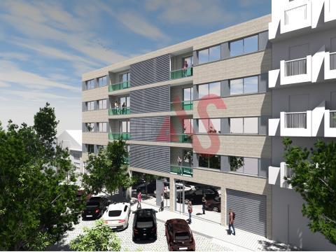 Apartamento T1 em construção em Matosinhos Sul