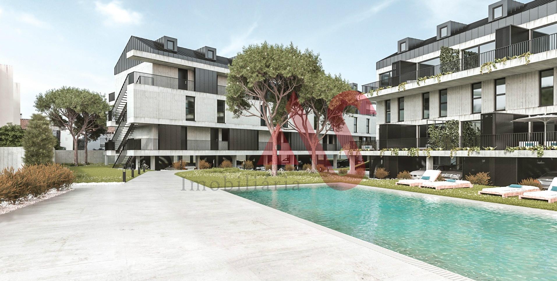 Apartamento T3 no condomínio fechado Riomar Ofir em Fão, Esposende