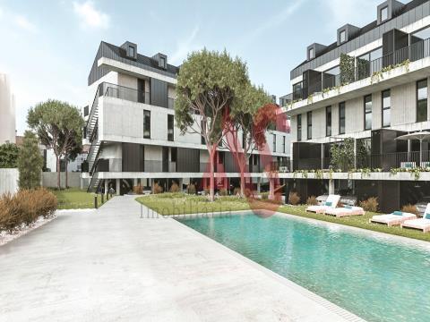 Apartamento T0+2 duplex a partir de 165.000€ no condomínio fechado Riomar Ofir em Fão, Esposende