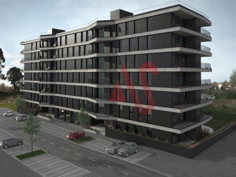 Apartamento T2 a partir de 250.000€ no empreendimento Green Terrace em Ramalde, Porto