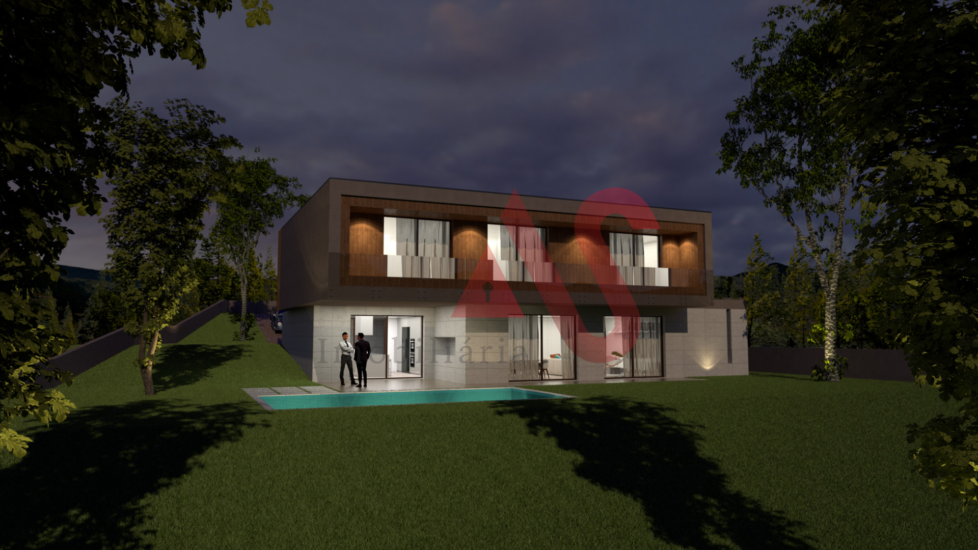 Lote de terreno para construção com 1.772 m2 em Santo Adrião, Vizela