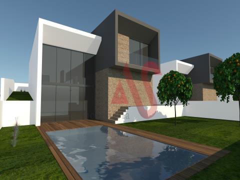 Moradia nova T3 com piscina em Candoso São Tiago, Guimarães
