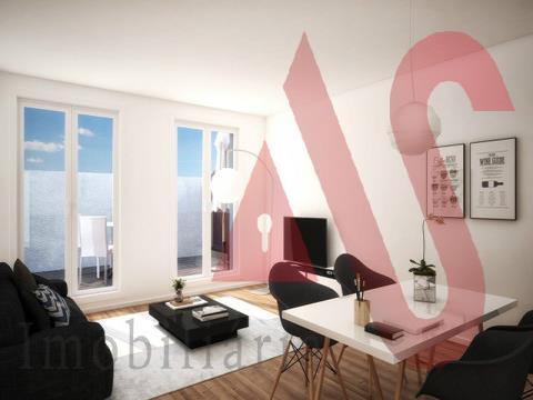 Apartamento T2 novo no centro de Braga