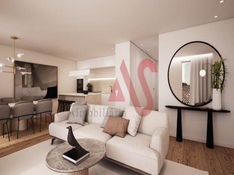 Lägenhet med 2 sovrum, beläget i Santo António-byggnaden, i centrum av Lousada.