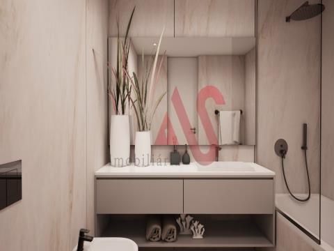 一間臥室的公寓,位於盧薩達中心的聖安東尼奧大廈。