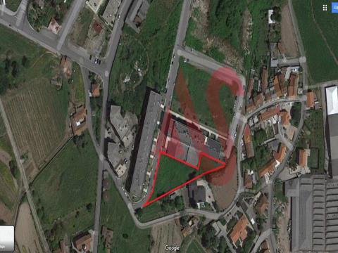 Terreno para construção com 1505,60 m2 em Selho S. Jorge, Guimarães