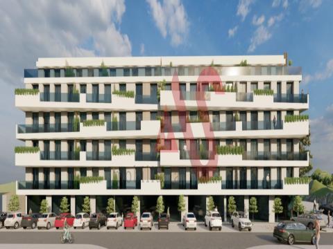 T1 + 1 lägenhet under uppbyggnad - Centro Lousada