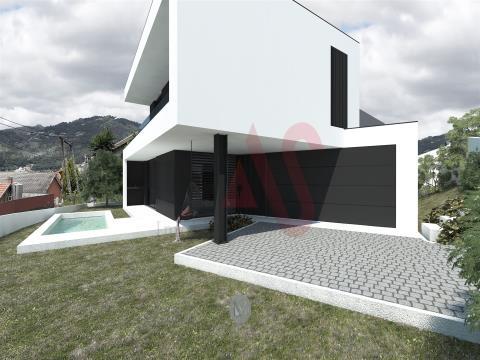 Terreno para construção com 397m2 em Santa Eulália, Vizela